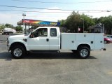 2008 Ford F350 Super Duty XL SuperCab 4x4 Utility Truck Data, Info and Specs