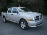 2012 Bright Silver Metallic Dodge Ram 1500 Express Crew Cab #68772247