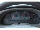2000 Ford Mustang V6 Coupe Gauges