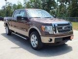 2012 Golden Bronze Metallic Ford F150 Lariat SuperCrew 4x4 #68772467