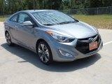 2013 Titanium Gray Metallic Hyundai Elantra Coupe SE #68772466
