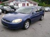 2006 Laser Blue Metallic Chevrolet Impala LT #68772430