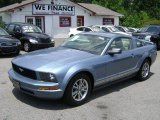 2005 Windveil Blue Metallic Ford Mustang V6 Premium Coupe #68772429