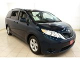 2011 South Pacific Blue Pearl Toyota Sienna LE #68772167