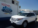 2013 Oxford White Ford Explorer XLT #68771823