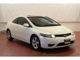 2007 Taffeta White Honda Civic EX Coupe #68772340