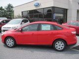 2012 Race Red Ford Focus SE Sedan #68772126
