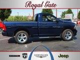 2012 True Blue Pearl Dodge Ram 1500 Express Regular Cab 4x4 #68771793