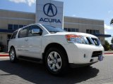 2012 Blizzard White Nissan Armada Platinum #68771750