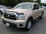 2010 Sandy Beach Metallic Toyota Tundra Double Cab 4x4 #68771694
