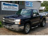 2005 Dark Blue Metallic Chevrolet Silverado 1500 LS Regular Cab 4x4 #68771983