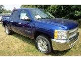 2013 Blue Topaz Metallic Chevrolet Silverado 1500 LT Crew Cab 4x4 #68829948