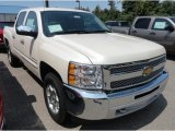 2013 White Diamond Tricoat Chevrolet Silverado 1500 LT Crew Cab 4x4 #68829942