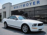 2005 Performance White Ford Mustang V6 Premium Convertible #68829923