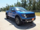 2012 Blue Flame Metallic Ford F150 SVT Raptor SuperCrew 4x4 #68830254
