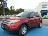2013 Ruby Red Metallic Ford Explorer FWD #68829559