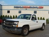 2005 Summit White Chevrolet Silverado 1500 Regular Cab #68830246