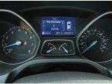 2012 Ford Focus SE Sport Sedan Gauges