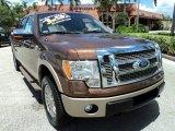 2011 Golden Bronze Metallic Ford F150 King Ranch SuperCrew 4x4 #68829544