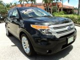 2011 Tuxedo Black Metallic Ford Explorer XLT #68829543