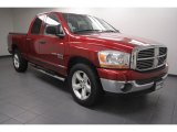 2006 Inferno Red Crystal Pearl Dodge Ram 1500 SLT Lone Star Edition Quad Cab #68829897