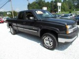 2003 Dark Gray Metallic Chevrolet Silverado 2500HD LS Extended Cab 4x4 #68830220