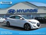 2013 Monaco White Hyundai Elantra Coupe SE #68829519