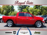 2012 Flame Red Dodge Ram 1500 Big Horn Crew Cab 4x4 #68829462