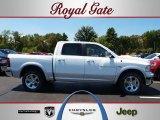 2012 Bright White Dodge Ram 1500 Laramie Crew Cab 4x4 #68829461