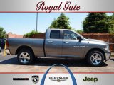 2012 Mineral Gray Metallic Dodge Ram 1500 Big Horn Quad Cab 4x4 #68830116