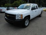 2011 Summit White Chevrolet Silverado 1500 Extended Cab 4x4 #68829408