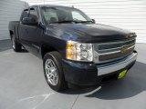 2008 Dark Blue Metallic Chevrolet Silverado 1500 LT Extended Cab #68829773