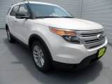 2013 White Platinum Tri-Coat Ford Explorer XLT #68829768