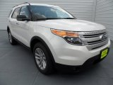 2013 White Platinum Tri-Coat Ford Explorer XLT EcoBoost #68829767