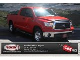 2010 Radiant Red Toyota Tundra Double Cab 4x4 #68829341