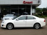 2010 White Platinum Tri-coat Metallic Ford Fusion SEL V6 #68829322