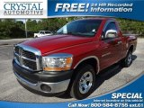 2006 Inferno Red Crystal Pearl Dodge Ram 1500 ST Regular Cab #68830014