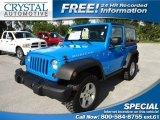 2011 Cosmos Blue Jeep Wrangler Rubicon 4x4 #68830009