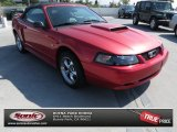 2002 Laser Red Metallic Ford Mustang GT Convertible #68829674