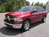 2011 Deep Cherry Red Crystal Pearl Dodge Ram 1500 Big Horn Crew Cab 4x4 #68829996