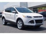 2013 White Platinum Metallic Tri-Coat Ford Escape Titanium 2.0L EcoBoost #68829647