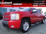 2008 Victory Red Chevrolet Silverado 1500 LT Crew Cab 4x4 #68829642