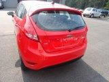 2013 Race Red Ford Fiesta SE Hatchback #68829957