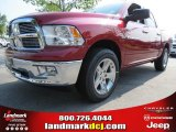 2012 Deep Cherry Red Crystal Pearl Dodge Ram 1500 Big Horn Crew Cab #68829630
