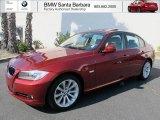 2011 Vermillion Red Metallic BMW 3 Series 328i Sedan #68889697