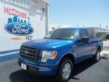2012 Blue Flame Metallic Ford F150 STX Regular Cab #68889648
