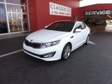 2013 Snow White Pearl Kia Optima SX Limited #68889976