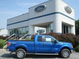 2012 Blue Flame Metallic Ford F150 XLT SuperCab 4x4 #68889579
