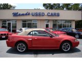 2001 Laser Red Metallic Ford Mustang GT Convertible #68889923