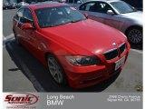 2008 Crimson Red BMW 3 Series 335i Sedan #68889884
